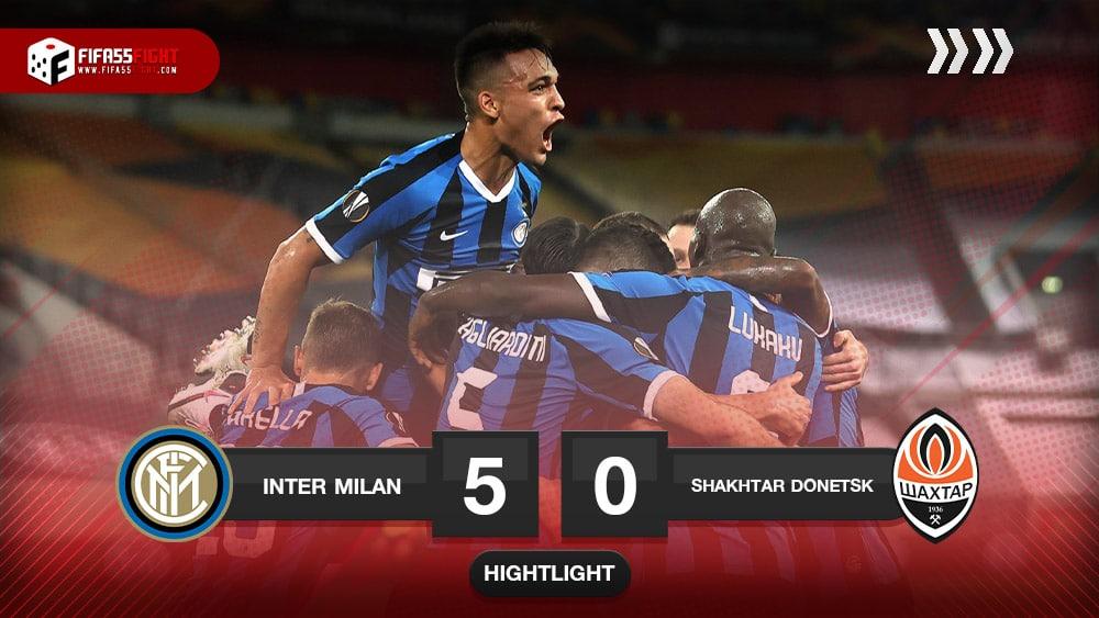 Inter Milan 5-0 Shakhtar Donetsk
