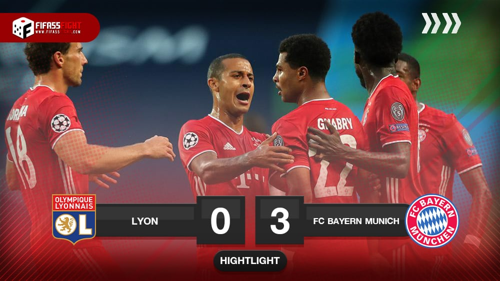 Olympique 0-3 Bayern Munich