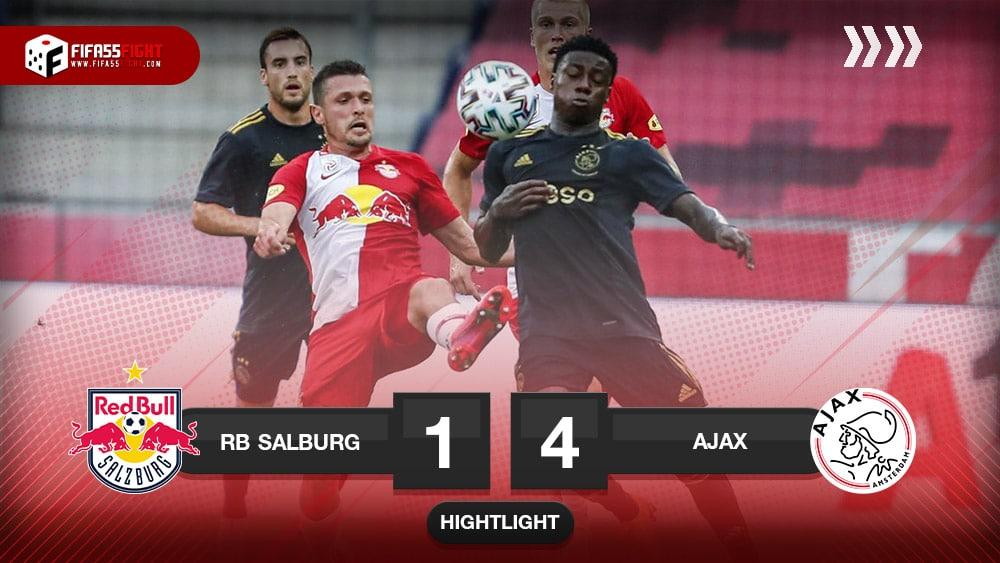 Red Bull Salzburg 1-4 Ajax Amsterdam