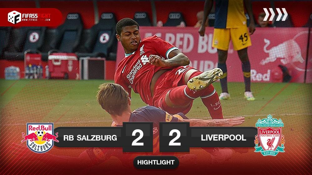 Red Bull Salzburg 2 – 2 Liverpool