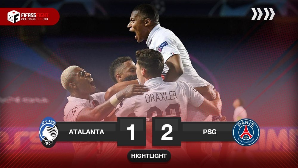 Atalanta 1-2 Saint Germain