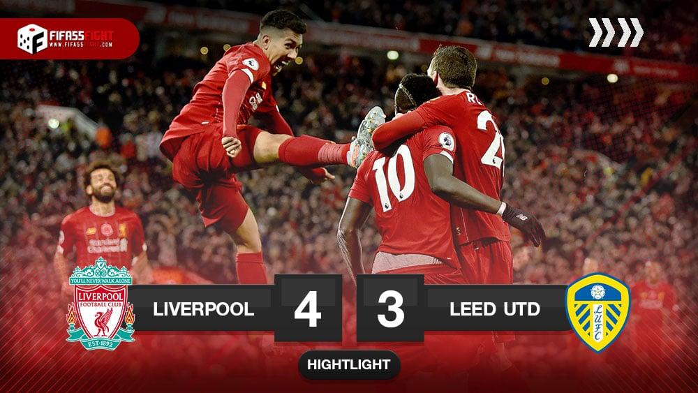 Liverpool 4-3 Leeds United