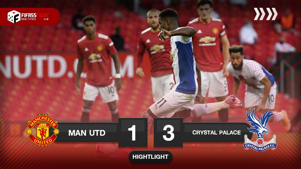Manchester United 1-3 Crystal