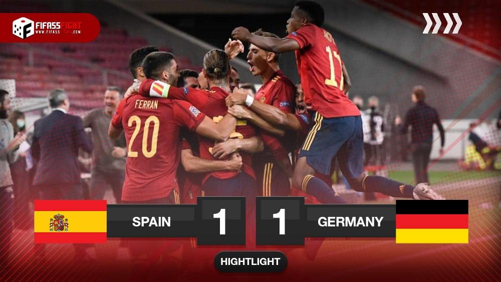 Germany 1-1 Spain